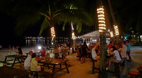 nightlife, Redang Beach Resort