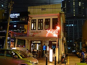 Yoko's, Japanese restaurant and bar on Changkat Bukit Bintang
