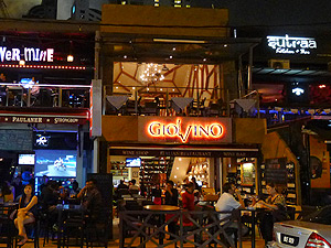 Giovino, Wine shop / bar and Italian & Greek restaurant on Changkat Bukit Bintang