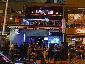 Never Mine Bar, Bar on Changkat Bukit Bintang