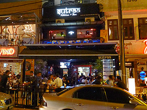 Sutraa Kitchen & Bar, Chillout bar serving Indian tapas on Changkat Bukit Bintang