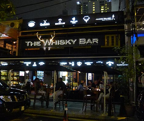 The Whisky Bar, Whisky bar on Changkat Bukit Bintang