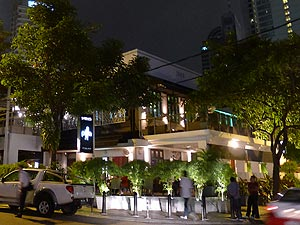 Werner's on Changkat, Restaurant (Italian / European Fusion) and Bar on Changkat Bukit Bintang with an upstair club lounge and large balcony.