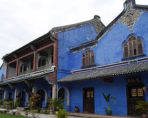 Cheong Fatt Tze Mansion, Mansion built by Cheong Fatt Tze at the end of 19th Century has 38 rooms, 5 granite-paved courtyards, 7 staircases & 220 vernacular timber louvre windows. Received UNESCO Most Excellent Heritage Conservation Award in 2000