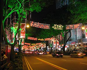 Orchard Road, is a road in Singapore that is the shopping and entertainment hub of the city-state. Often the surrounding area is known as Orchard and associated with the road.