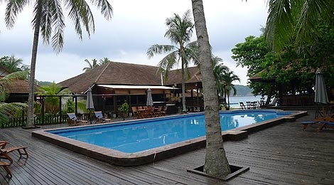 swimming pool, Coral Redang Island Resort