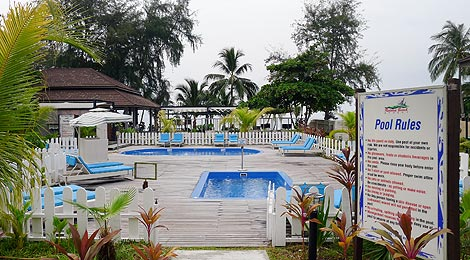 swimming pool, Redang Beach Resort